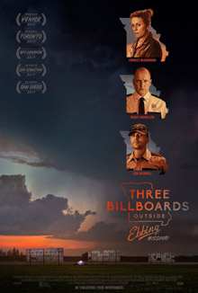 cinescoop three billboards outside ebbing missouri poster