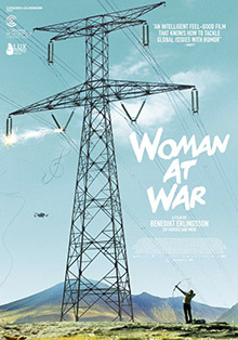 cinescoop woman at war poster